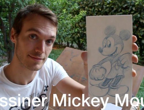 Comment dessiner Mickey Mouse